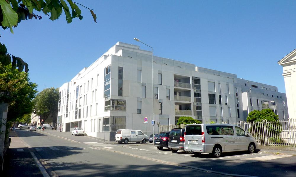 106 logements collectifs Carnot Buffon Boreau | Angers