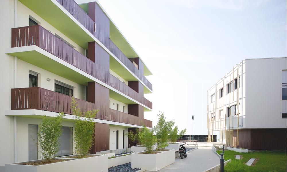 45 logements collectifs ZAC des neuf journaux | Chantepie
