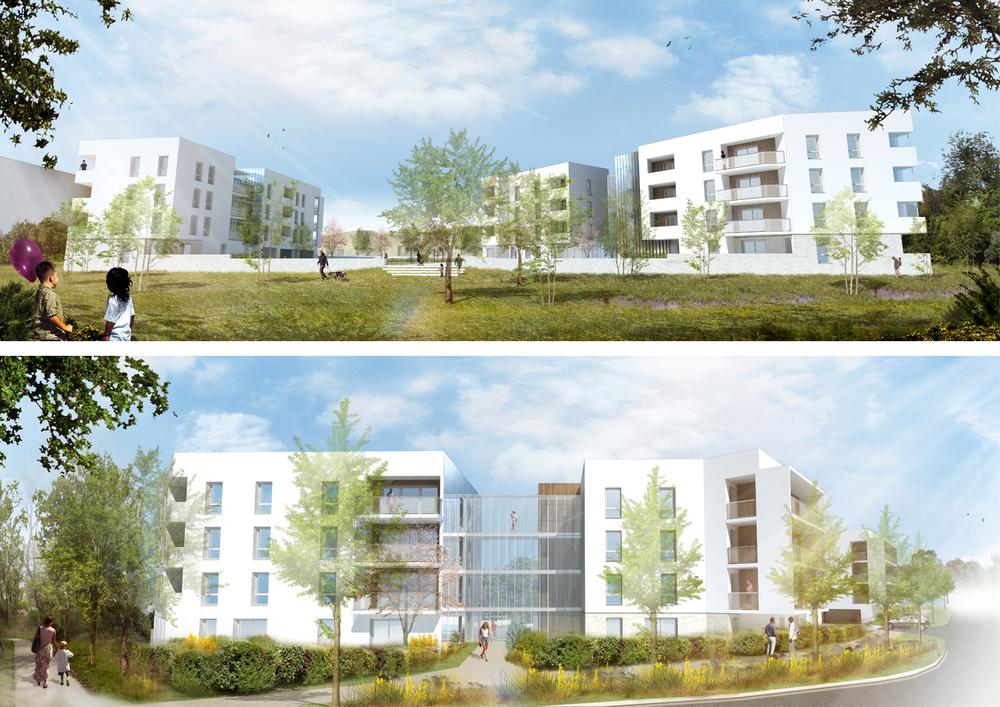 Logements La Pelousière Saint-Herblain - Enet Dolowy Architecture