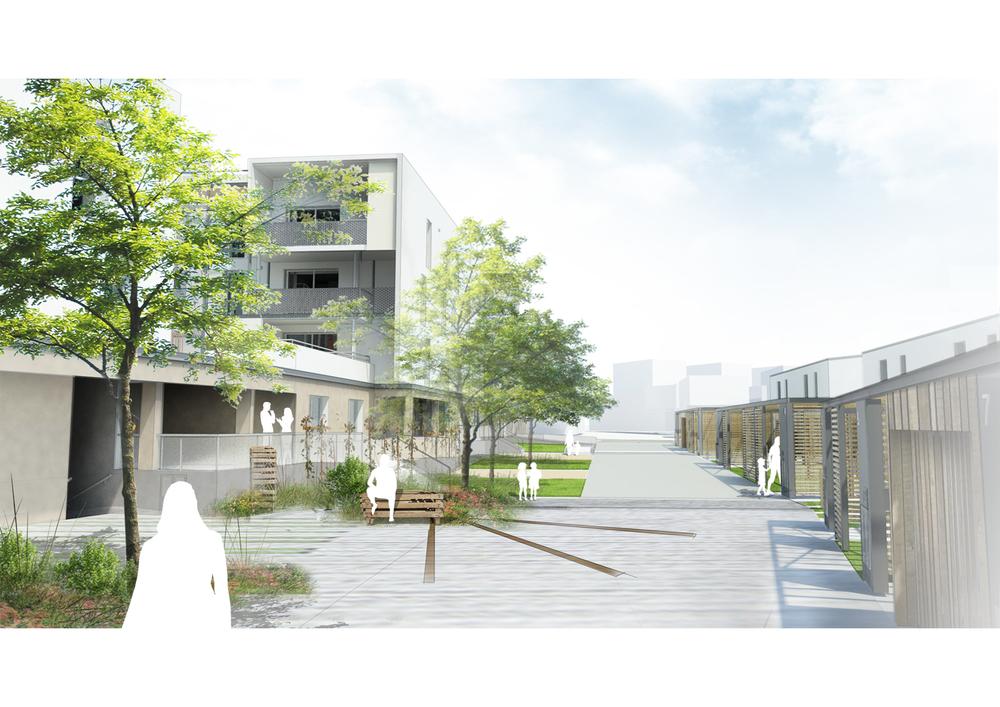 31 logements individuels et collectifs ZAC Provins | Ecouflant