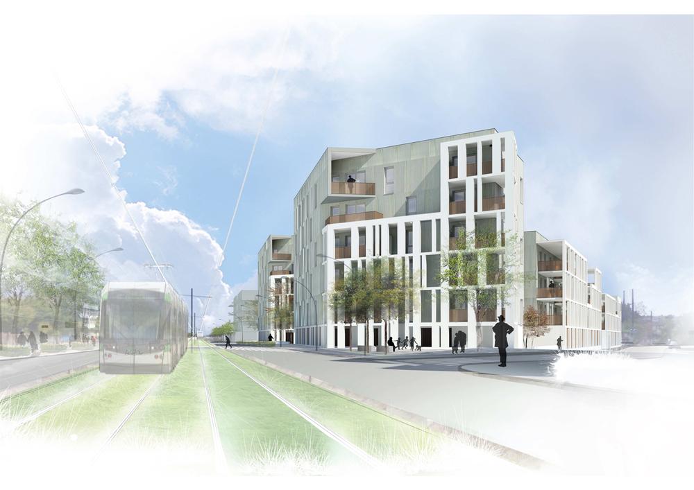 55 logements collectifs | Les Bourderies