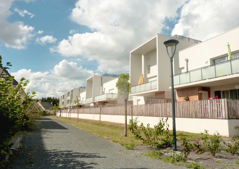 102 logements collectifs et intermédiaires Guérinière | Trelazé
