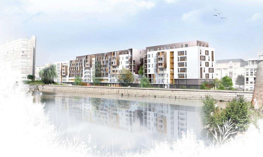 Restructuration en site occupé de 122 logements | Le Mans