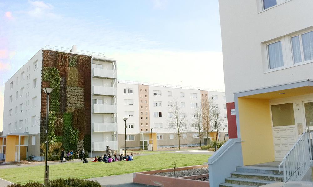 Réhabilitation en site occupé de 296 logements locatifs sociaux Breil Melies | Nantes