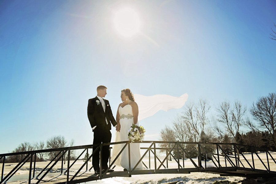 Kole & Danaca | Beautiful Snowy Winter Wedding
