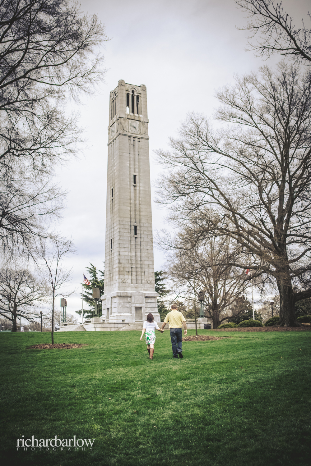 richard barlow photography - Jason and Karen Engagement Session NC State-3