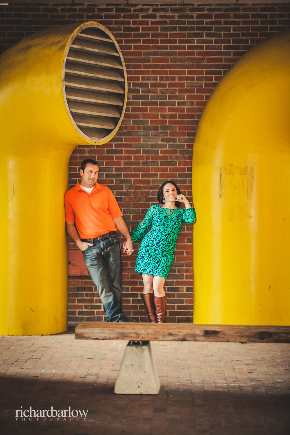 richard barlow photography - Jason and Karen Engagement Session NC State-9