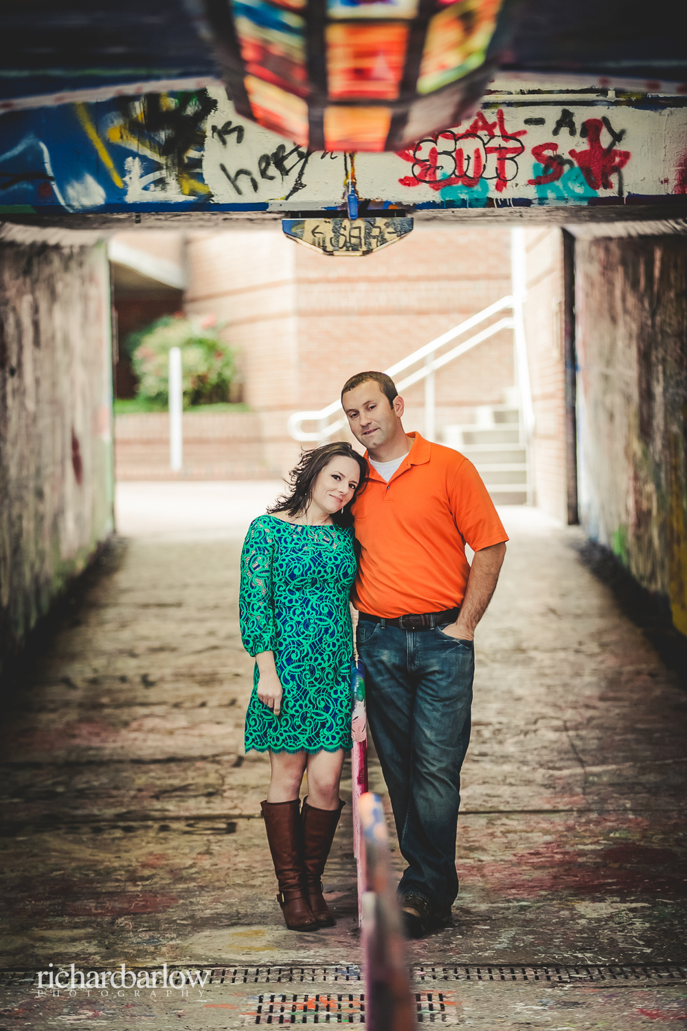 richard barlow photography - Jason and Karen Engagement Session NC State-11