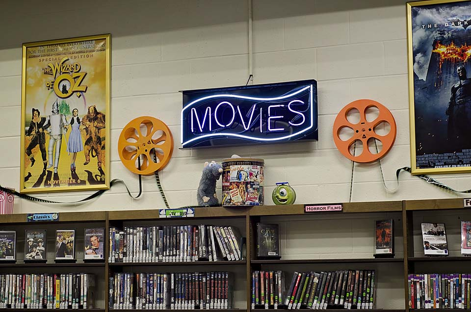 A section for movies