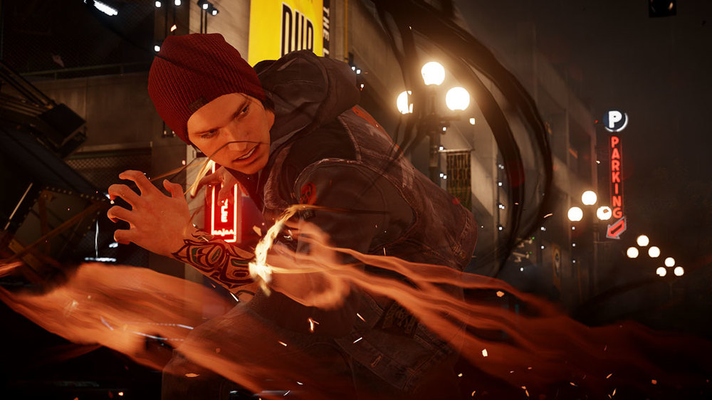 inFAMOUS SecondSon image from Sony Entertainment