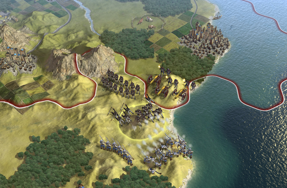 Civilization V  screenshot from  Firaxis Games