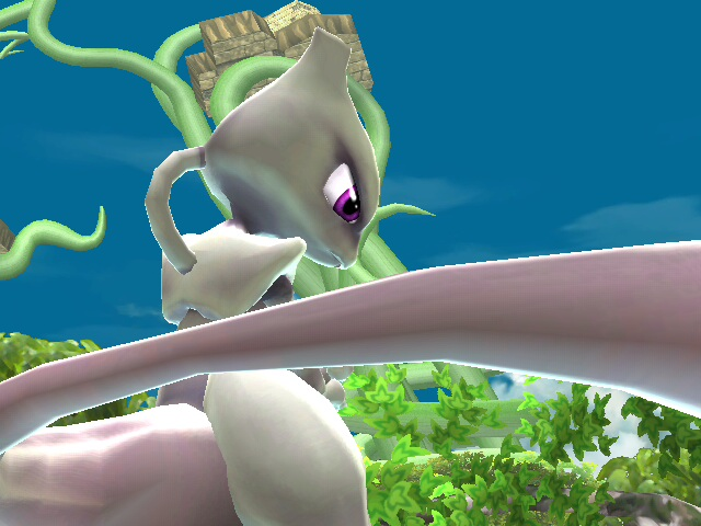 Mewtwo image from   Project M   website.