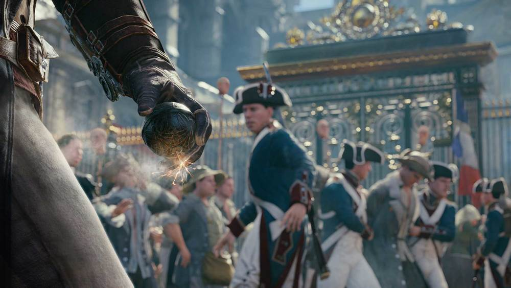 Assassin's Creed V: Unity screenshot from Ubisoft