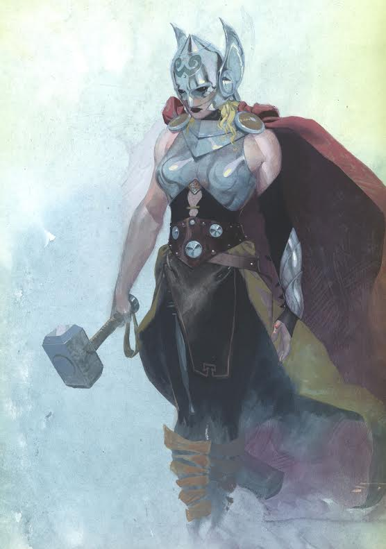 New Thor picture from Marvel