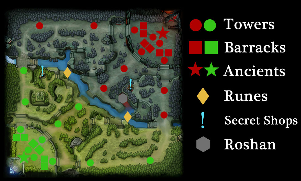 how to change map in dota 2