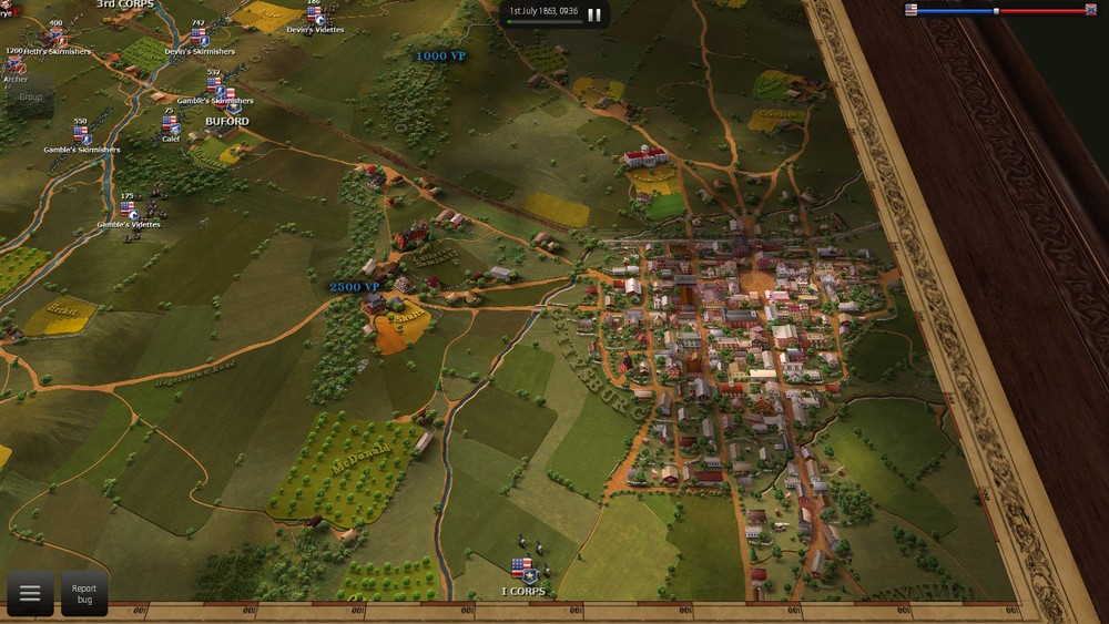 Ultimate Battle: Gettysburg  screenshot by Zach Yost