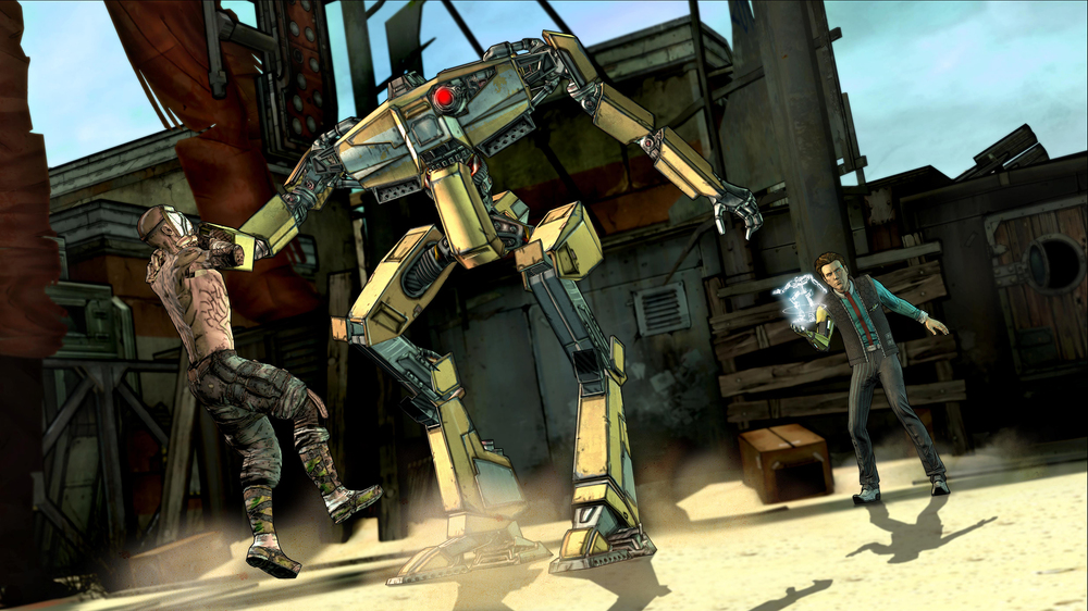 Tales from the Borderlands  screenshot from Telltale Games.