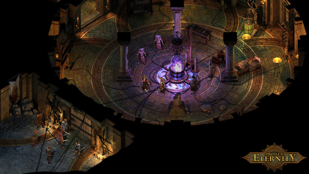 Pillars of Eternity screenshot   from Obsidian Entertainment, not from the hands-on demo at PAX Prime.