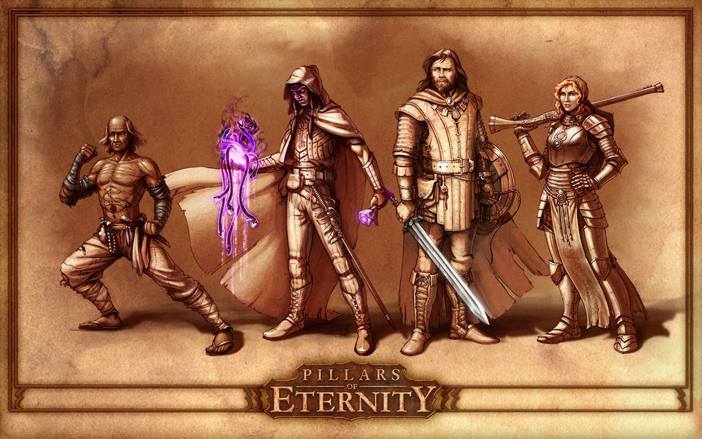 Pillars of Eternity image from Obsidian Entertainment.
