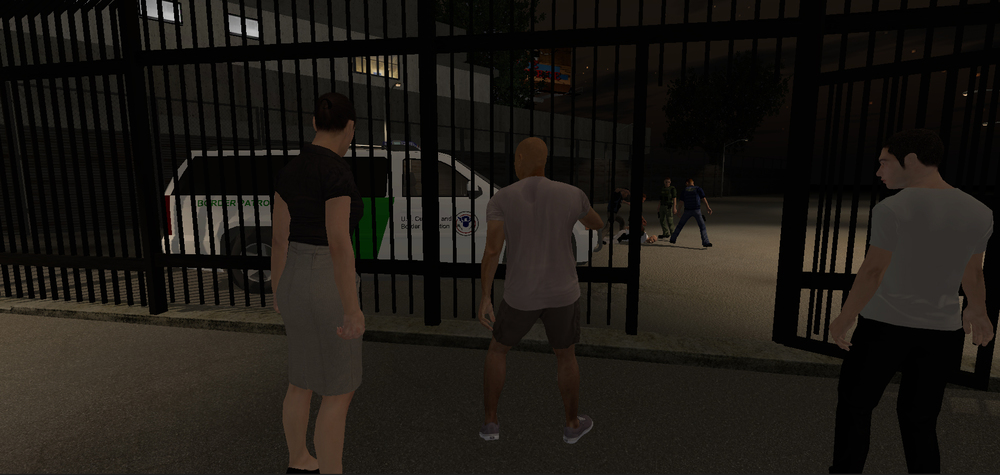 Screenshot of Use of Force from Indiecade.com