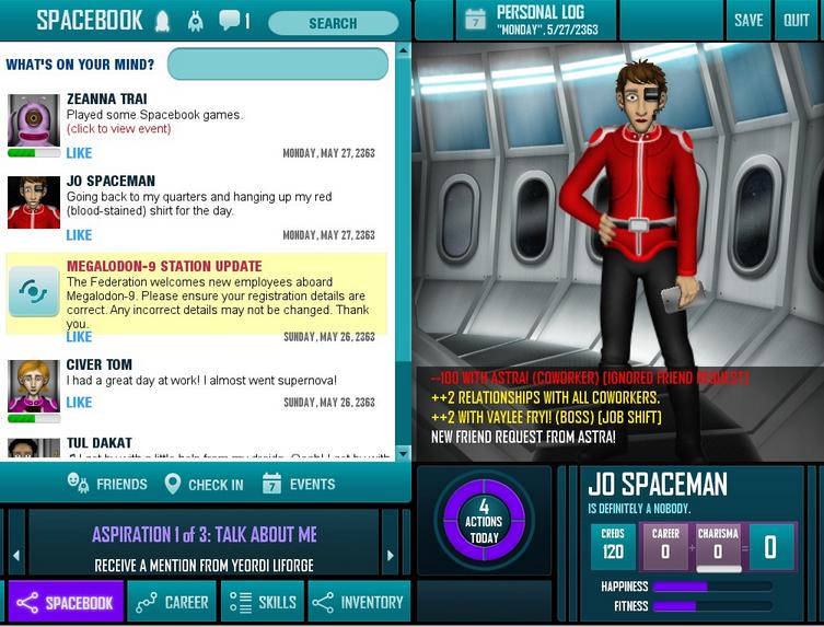 Redshirtscreenshot from Redshirtgame.com