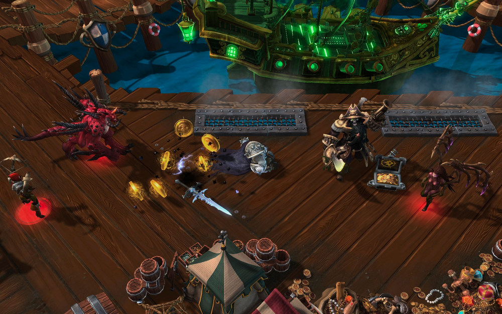 Screenshot of Heroes of the Storm from Blizzard.