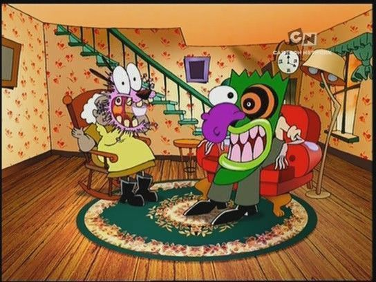 Horror Month 23 Courage The Cowardly Dog By John R Dilworth
