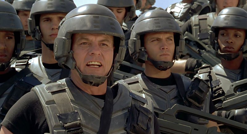 starship troopers hd (1997) full movie