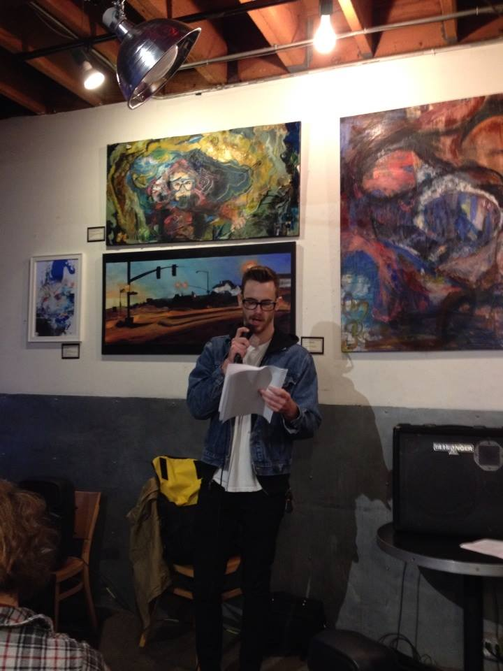 "Ian Kappos reading his story ""White Pasque"" which will run in Pravic issue 5."