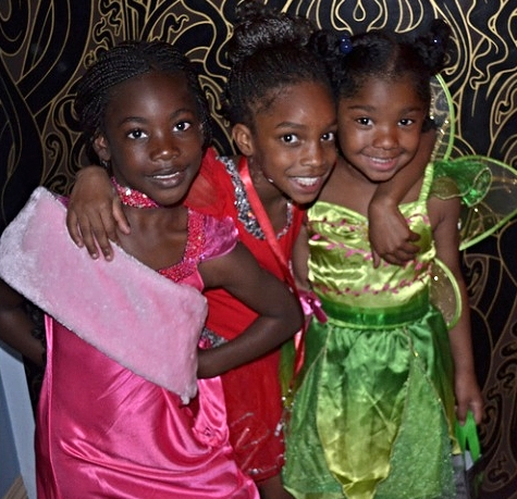 Halloween 2012: Youth Empowerment Project 'WEENSTERS looking adorable in their moviestar, princess, and fairy costumes