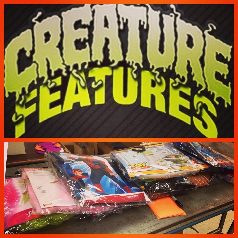 Creature Features, a horror film prop and memorabilia store in Burbank, California, sponsored the remaining ten 'WEENSTERS from Covenant House in New Orleans. We'll be taking these awesome costumes to the Covenant House kids on October 23 and will share more pictures then!