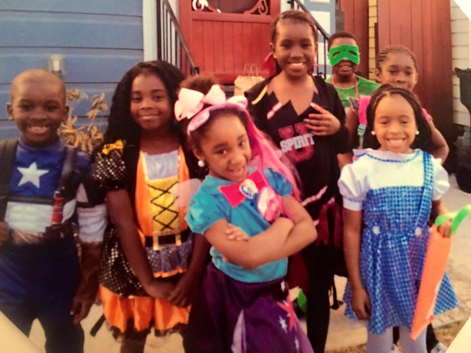 Exodus Place 'WEENSTERS are ready to trick-or-treat on Halloween 2014!