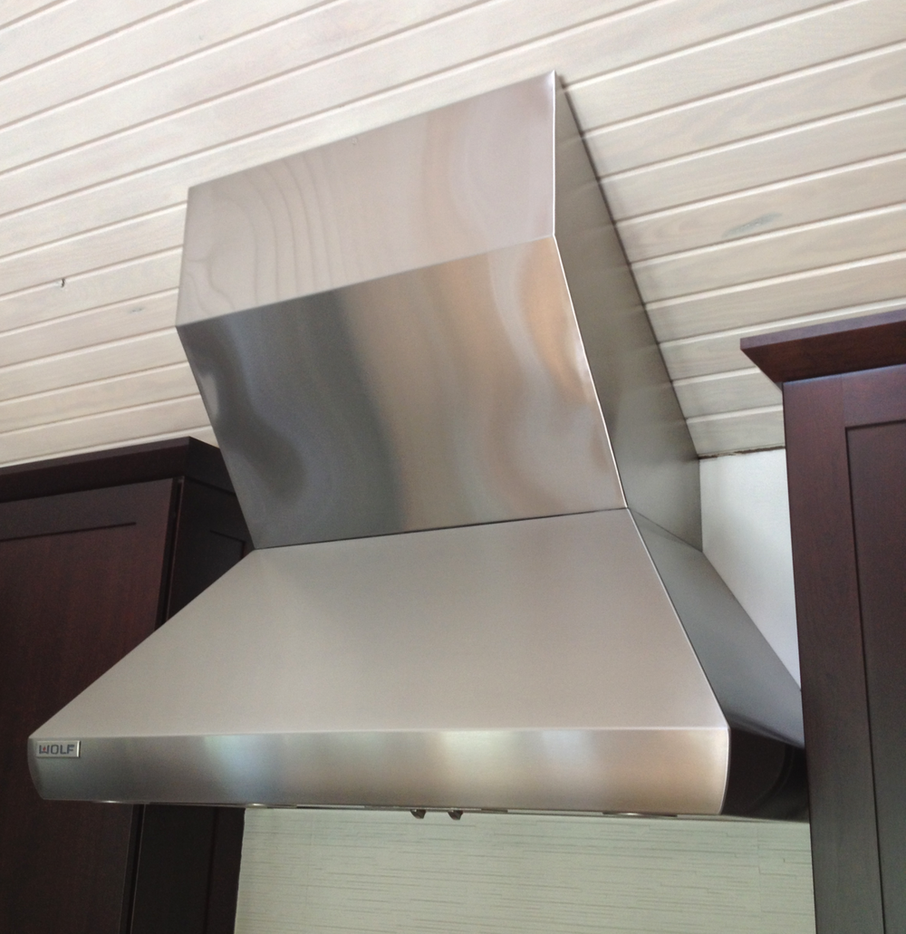 Stainless Steel Hood Chase