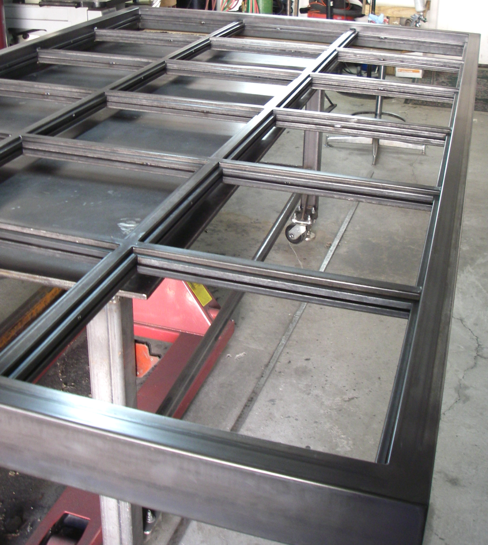 Decorative Steel Window Frame
