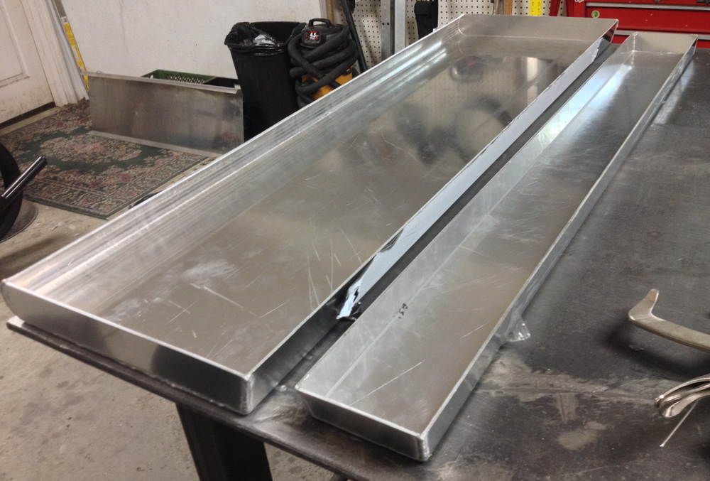 Aluminum Riser Molds