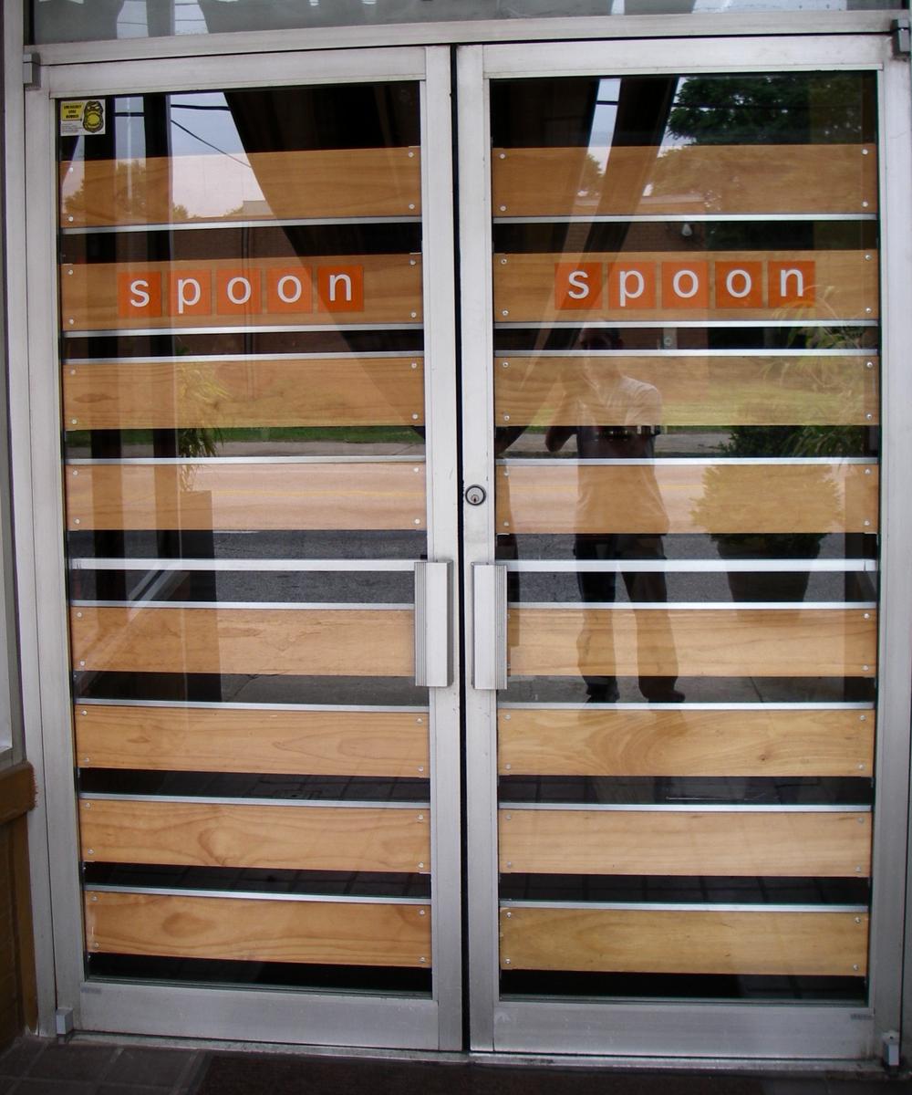 Aluminum Door Slats