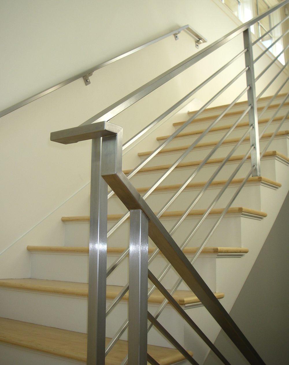 Contemporary Railings - Stainless Steel Cable Railings — Hudson Custom Fabrication ...