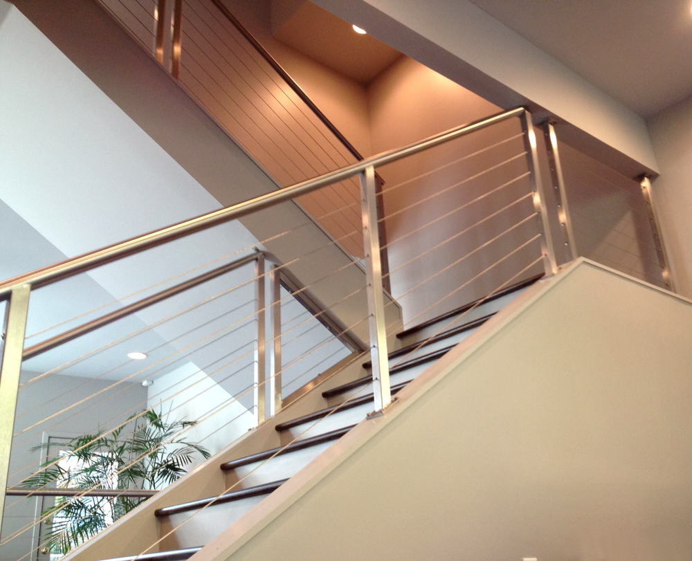 """Miami"" Stainless Steel Cable Railing"