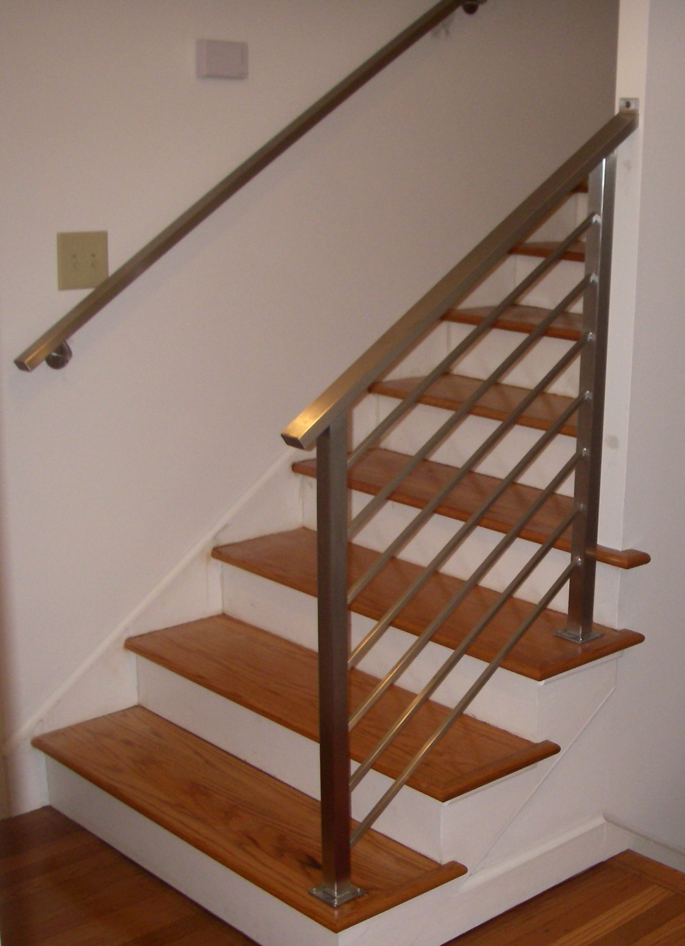 """Fasano"" Stainless Steel Tube Railing and Handrail"
