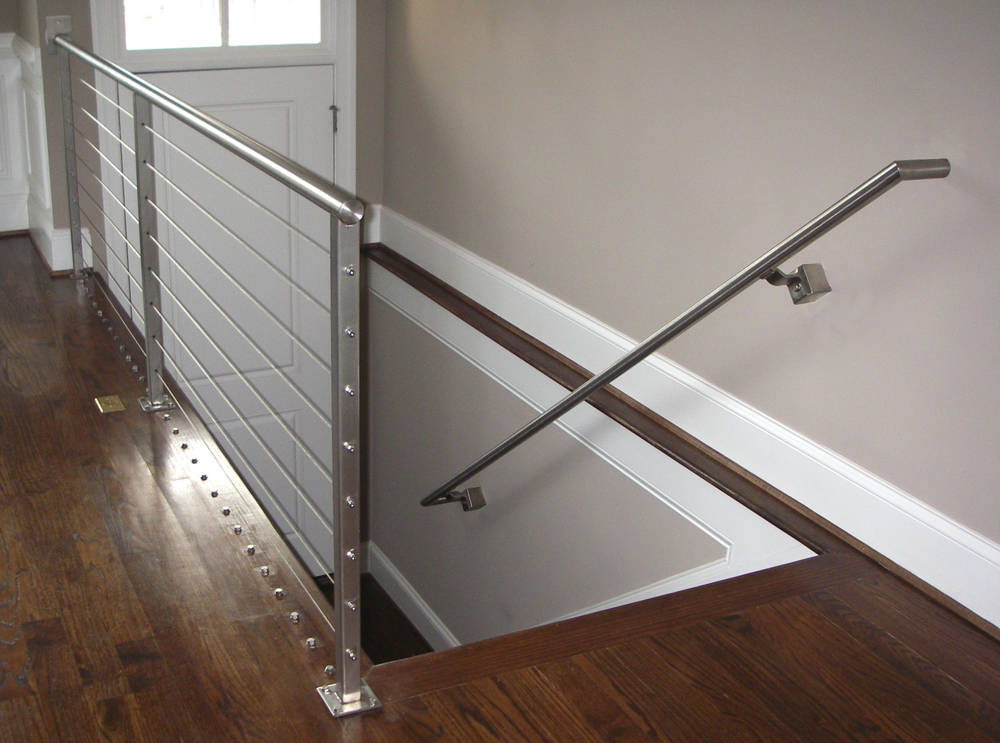 Stainless Steel Round Tube Cable Railing & Grab Rail