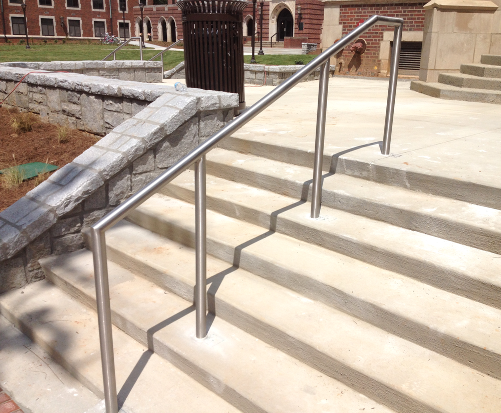 Commercial railings — hudson custom fabrication