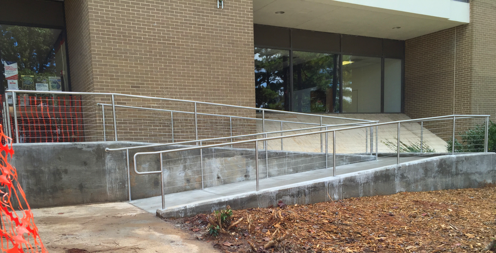 Stainless Steel ADA-Compliant Tube Railing