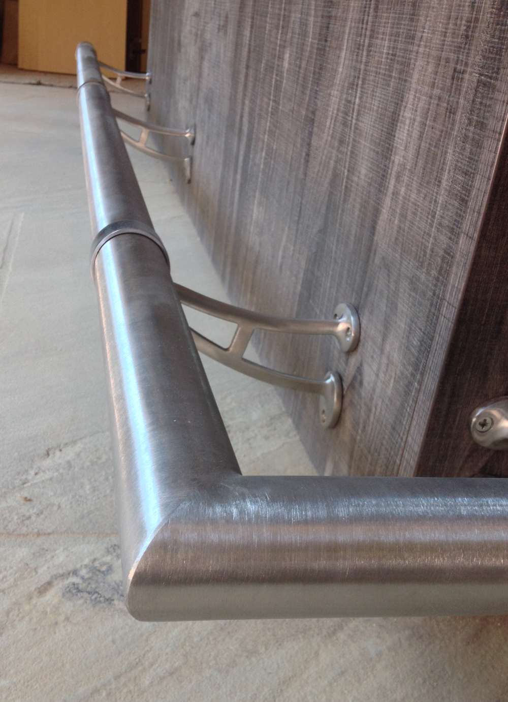 Stainless Steel Foot Rail