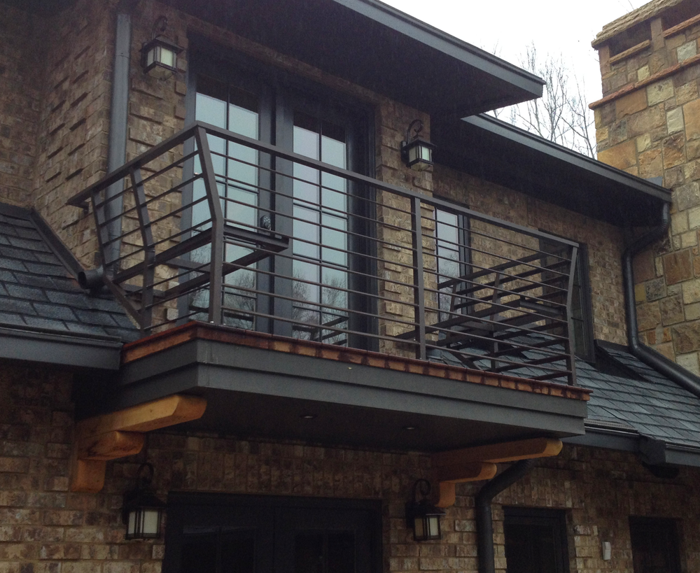 Powder Coated Aluminum Balcony