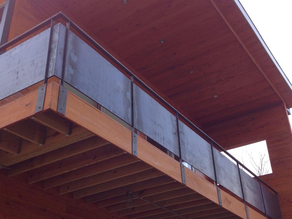 Steel Panel Railing
