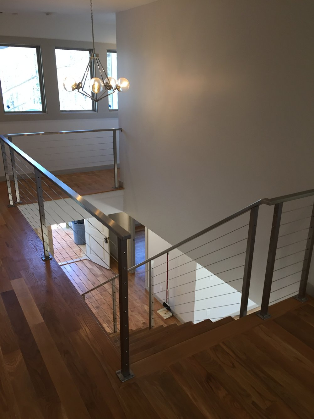 """Hudson"" Stainless Steel Cable Railing"