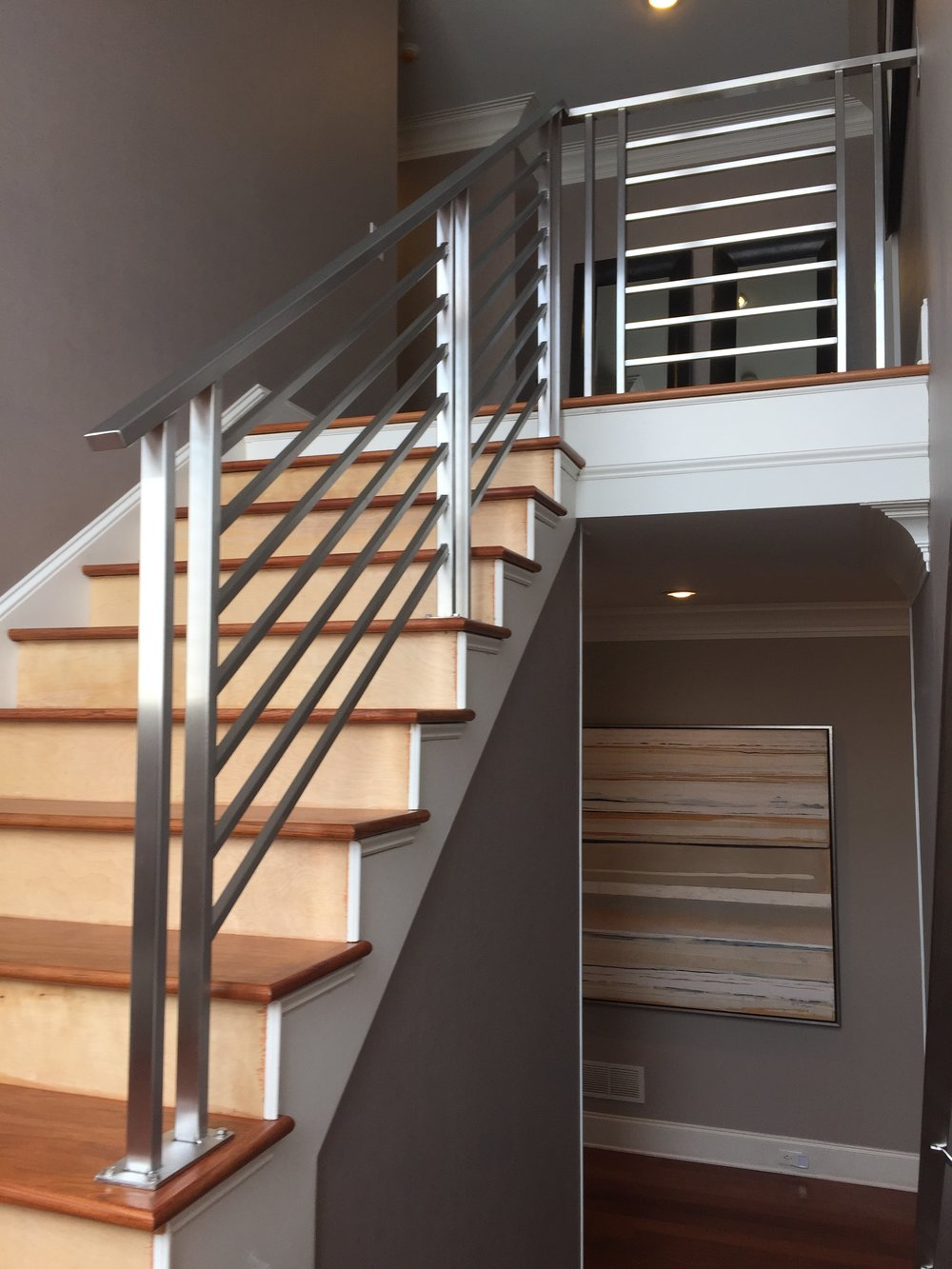 """Celani"" Stainless Steel Tube Railing"