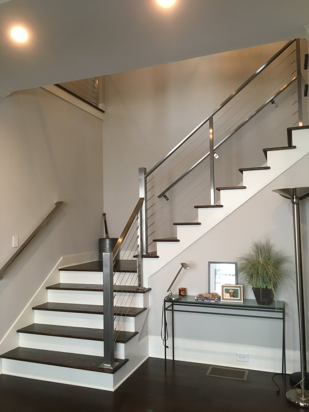 """Brody"" Stainless Steel Cable Railing"