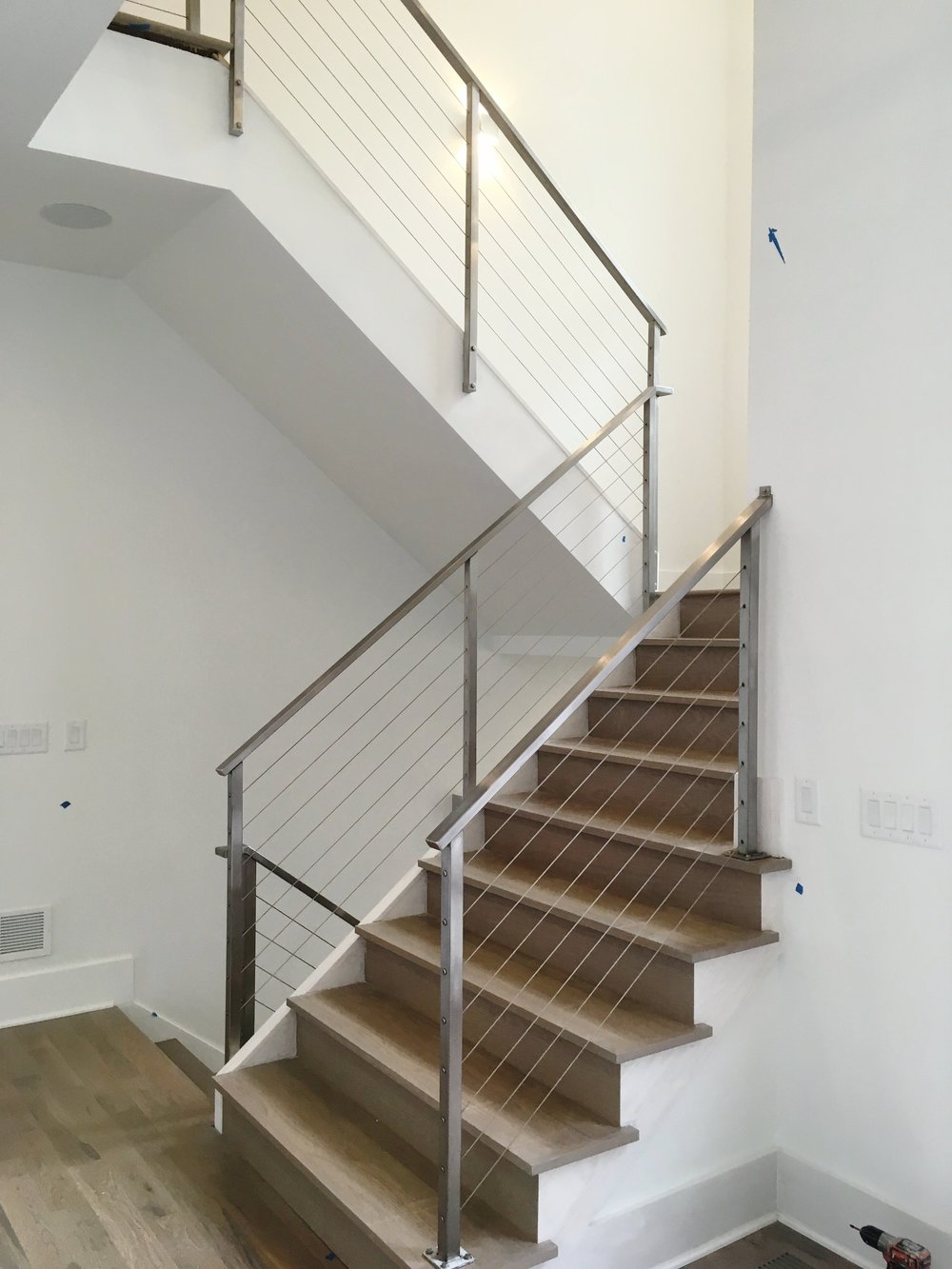 """Hudson"" Stainless Steel Cable Railings"