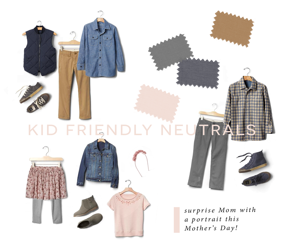 Shop Here: (from top left)  |  vest  |  khaki pants  |  chambray shirt  |  sneakers  |  |  gingham shirt  |  gray pants  |  high tops  |  |  headband  |  pink top (similar)  |  jean jacket  |  boots  |    skirt   (similar)  |  leggings